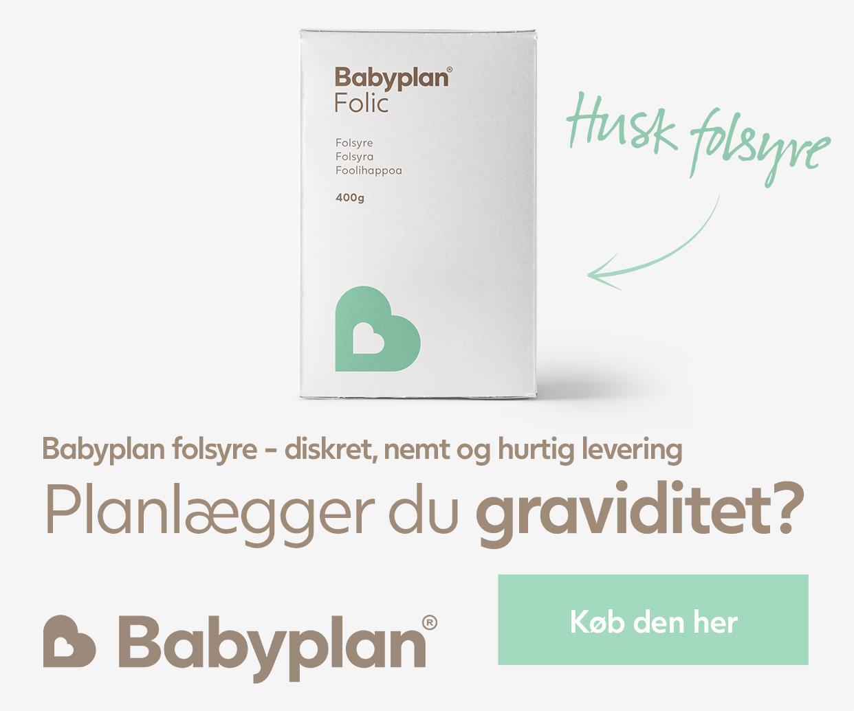 Husk folsyre graviditet