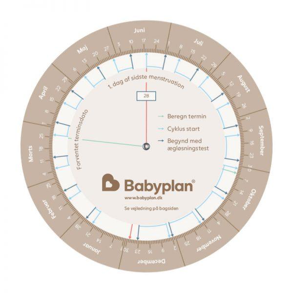 Babyplan ægløsningstestberegner